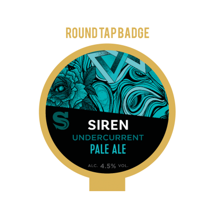 Siren Undercurrent Tap Badge